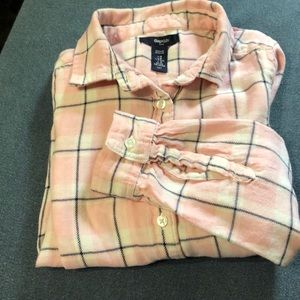 GAP Kids Plaid Flannel Shirt